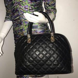 Cole haan handbag quilted black